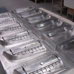 Air bag door tooling